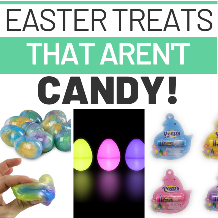 Easter Treats that Aren't Candy!