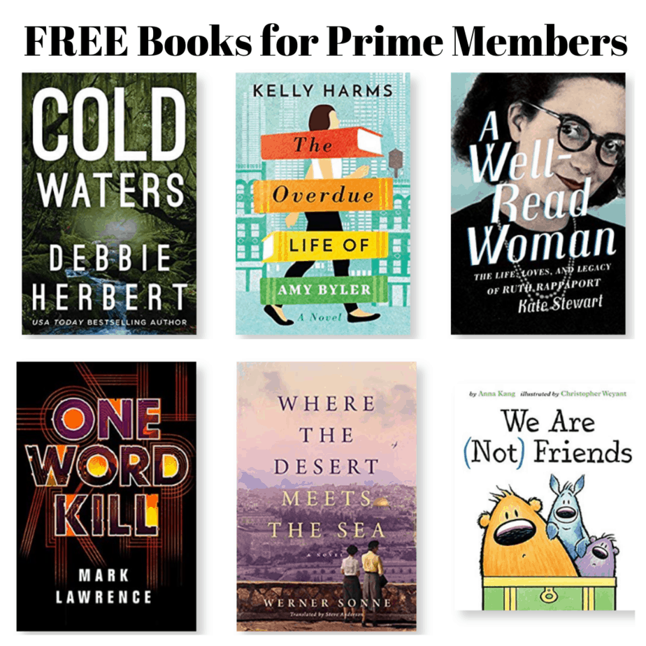 FREE Books for Prime Members with Kindle First - April 2019