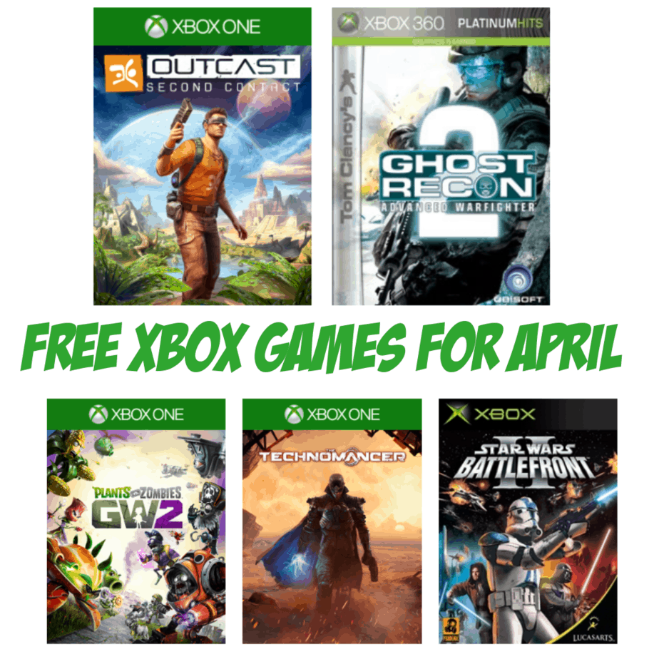 FREE Xbox Games Available for April 2019