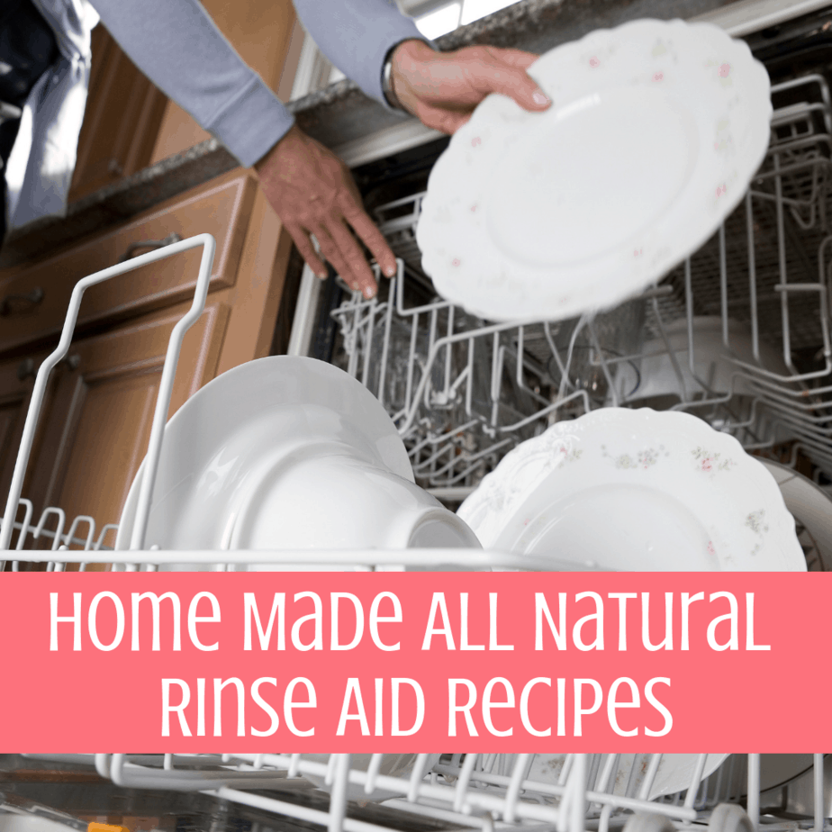 Home Made All Natural Rinse Aid Recipes