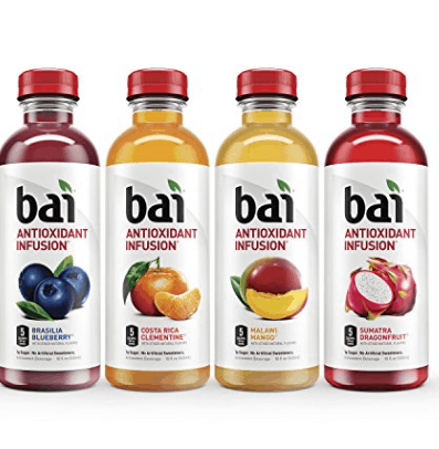 Bai Antioxidant Infused Drinks Rainforest Variety Pack 12-Count Only $10.07