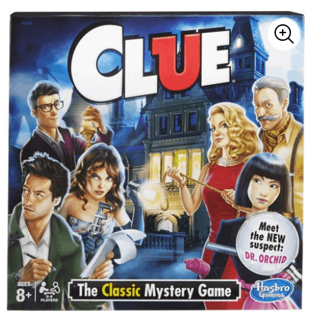 Walmart Game Clearance - Clue Only $5 and More!