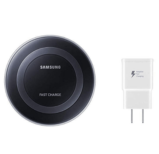 Samsung Qi Certified Fast Charge Wireless Charger Pad $18.00