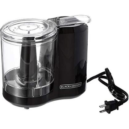 BLACK+DECKER 3-Cup Electric Food Chopper $14.00