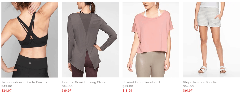 Athleta Warehouse Sale: Up to 70% Off Select Items
