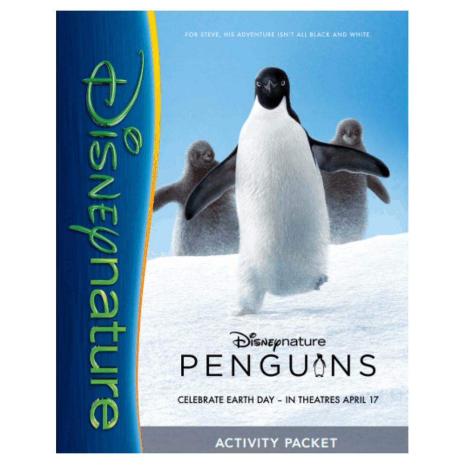 FREE Disney Penguins Printable Activity Pack