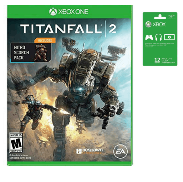 Xbox Live & Gift Card Deals - 12 Months & Titanfall 2 Game $45 & More!