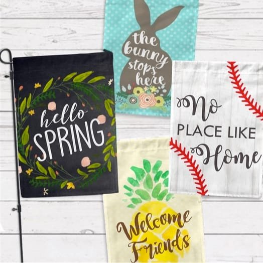 Hop into Spring Garden Flag Collection Only $9.99 + Free Shipping