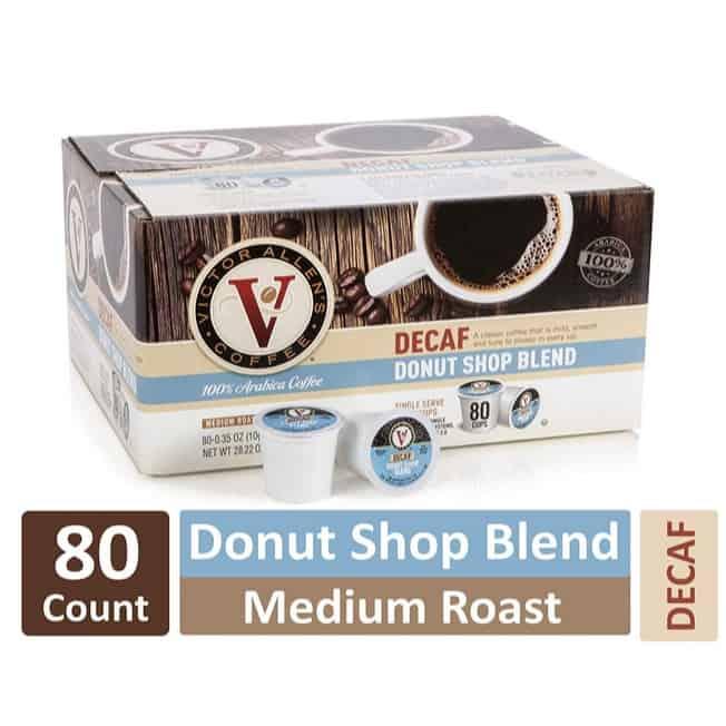 Decaf Donut Shop Blend for K-Cup Keurig 2.0 Brewers 80-Count Only $19.01