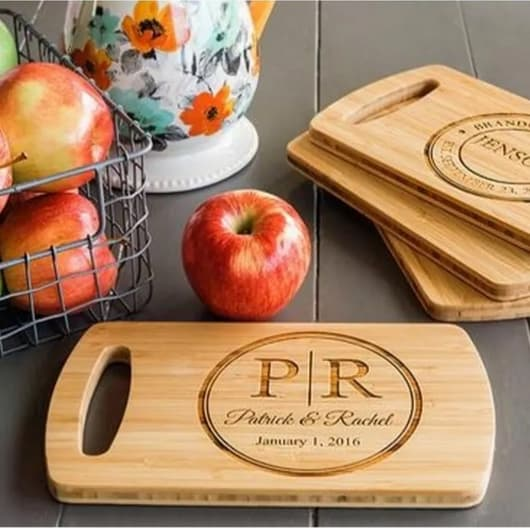 Personalized Easy Carry Cutting Board w/ Free Shipping Only $12.99