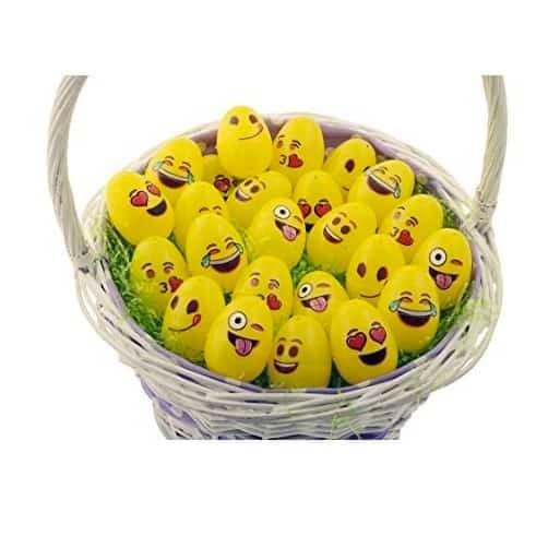 Emoji Easter Eggs 24-Pack Only $3.99