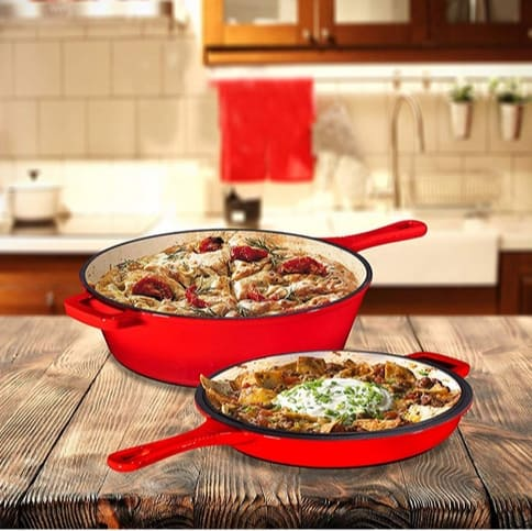 Up to 41% Off Enamaeld Cast Iron Cookware **Today Only**