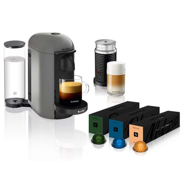 Nespresso VertuoPlus Coffee and Espresso Machine Bundles $129.99 **Today Only**
