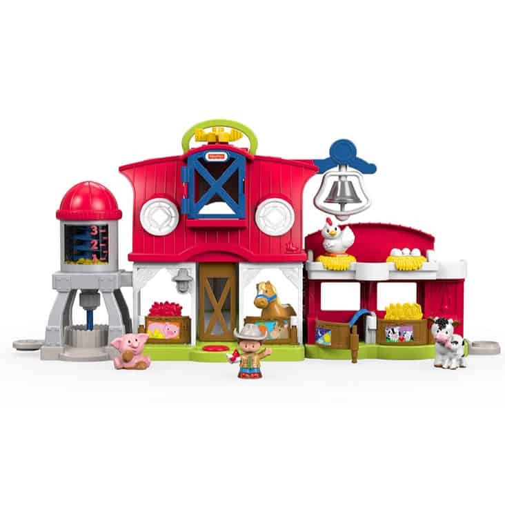 Fisher-Price Little People Caring for Animals Farm Playset Only $24.37