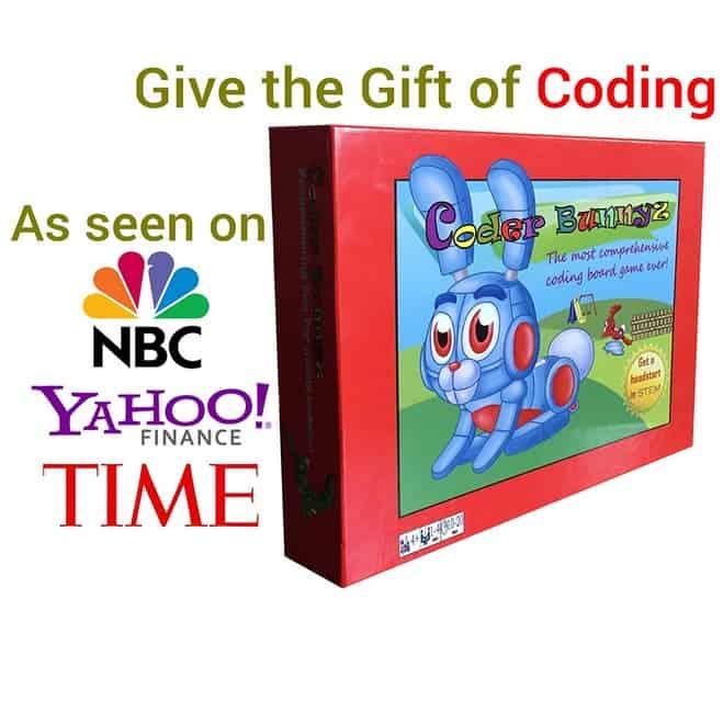 Coder Bunnyz - STEM Coding Board Game Only $34.85