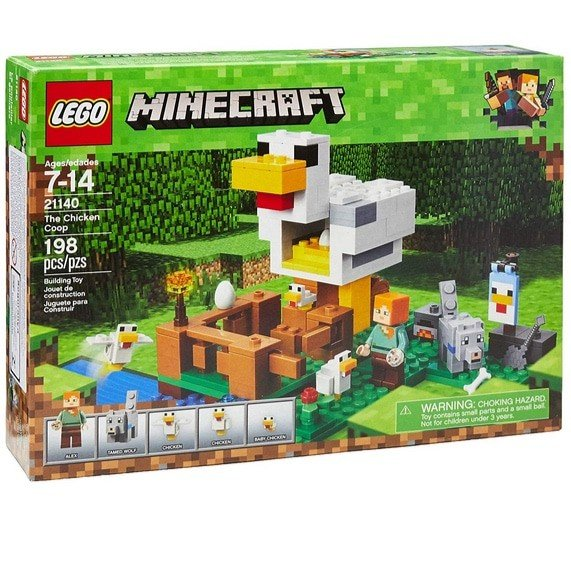 LEGO Minecraft The Chicken Coop Building Kit Now .79