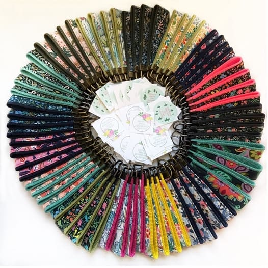 Designer Fabric Keystraps Only $5.99