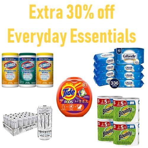 Amazon: Additional 30% Off Everyday Essentials = Charmin $0.14 Per Roll + Starbucks $0.23 per K-Cup