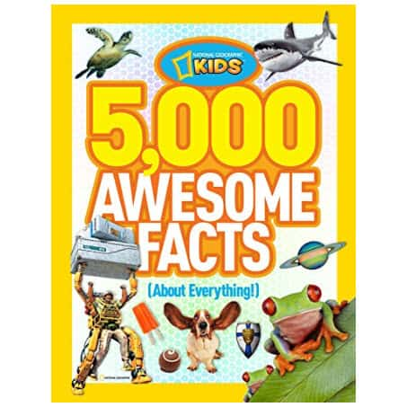 5,000 Awesome Facts (About Everything!) (National Geographic Kids) Only $8.24 (Was $19.95)
