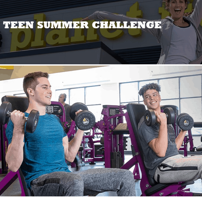 Planet Fitness: Teens Workout for FREE