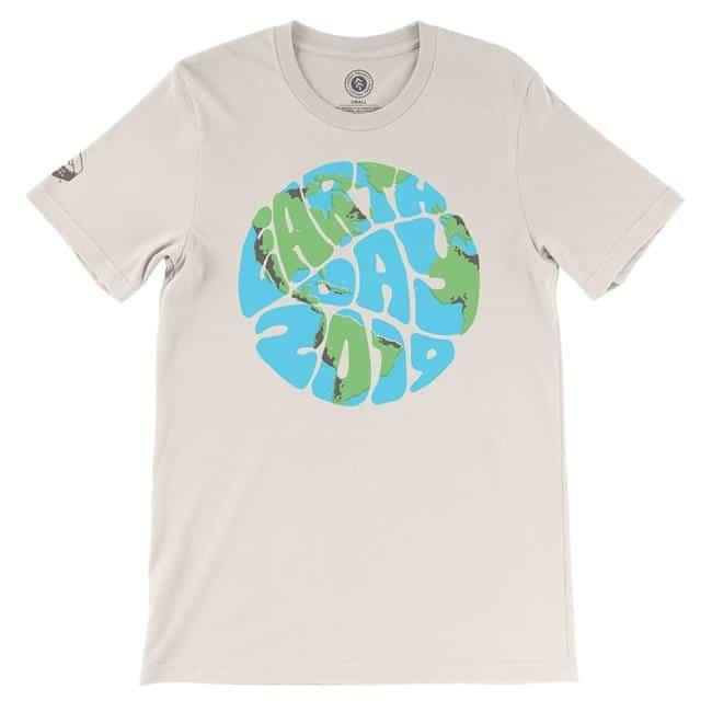 Free Earth Day 2019 T-Shirt from Sierra Club