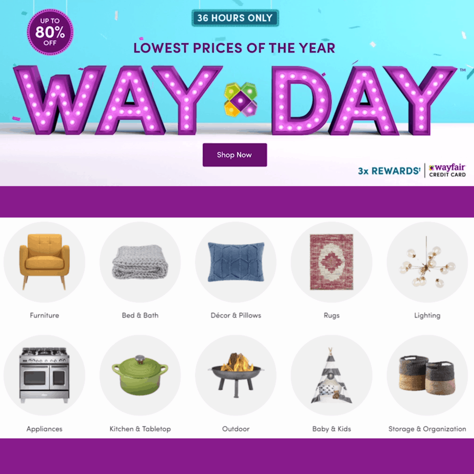 It's WAY DAY - Free Shipping and Awesome Deals on Everything at Wayfair