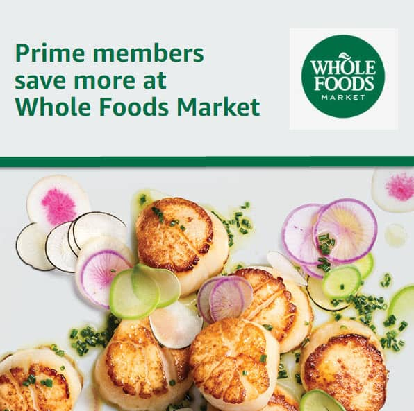 New Amazon Prime Members: Spend $20 at Whole Foods - Get $10 Credit