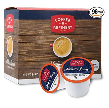 Coffee Refinery Medium Roast Arabica Coffee K-Cups (96) $21.95 - $0.22 Each