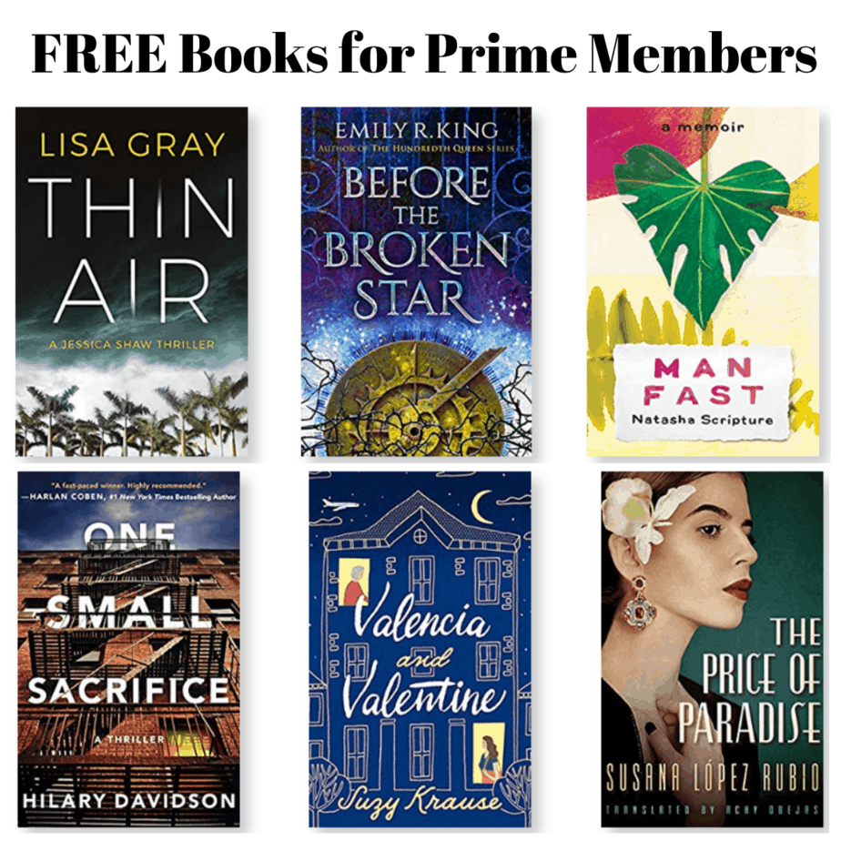 FREE Books for Prime Members with Kindle First - May 2019