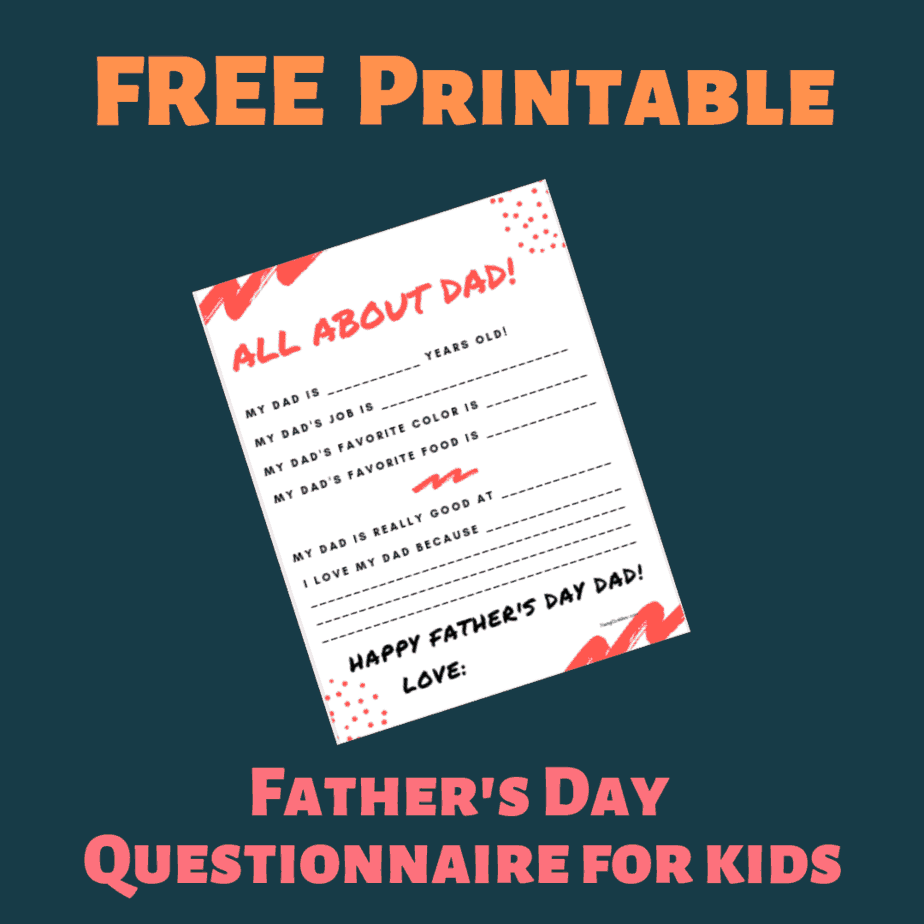 photograph relating to Father's Day Questionnaire Free Printable referred to as Free of charge Printable Fathers Working day Questionnaire for Young children **Great