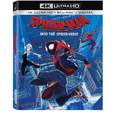 Spider-Man: Into the Spider-Verse [Blu-ray] $20.47