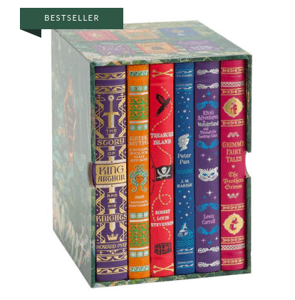 Barnes & Noble: Children's Collectible Editions Boxed Set ONLY $25 **50% Off**
