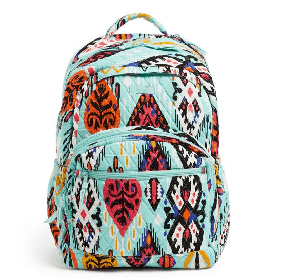 Vera Bradley Factory Style Essential Large Backpack $36.75 (Was $138)