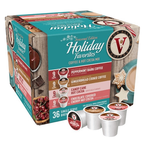 Best Buy: Victor Allen's - Holiday Favorites Coffee Pods (36-Pack) ONLY $4.99