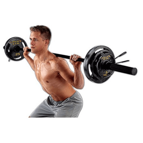 Walmart: Gold's Gym - Olympic Weight Set, 110 lbs ONLY $94 (Was $190)