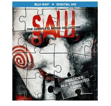 Saw 1-7 Movie Collection Bluray + Digital $11.96
