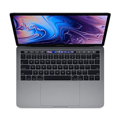 """Apple 13.3"""" MacBook Pro w/ Touch Bar Mid 2018 $1,529.99"""