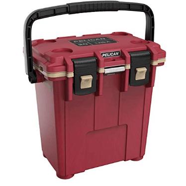 Pelican Elite 20 Quart Cooler (Canyon Red/Coyote) $112.49