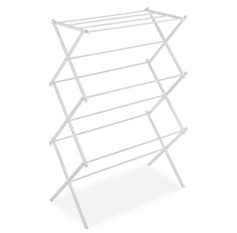 Whitmor Foldable Drying Rack, White $20.40