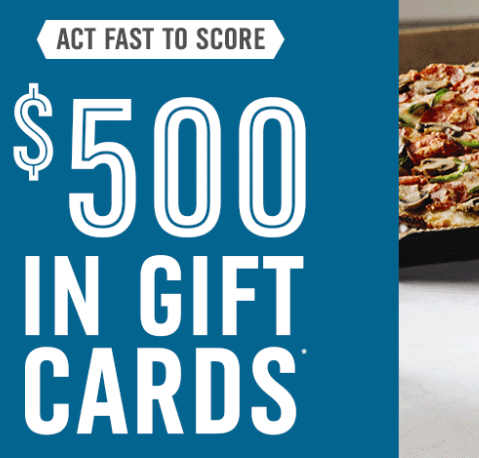 Free Domino's Gift Cards Coming Soon