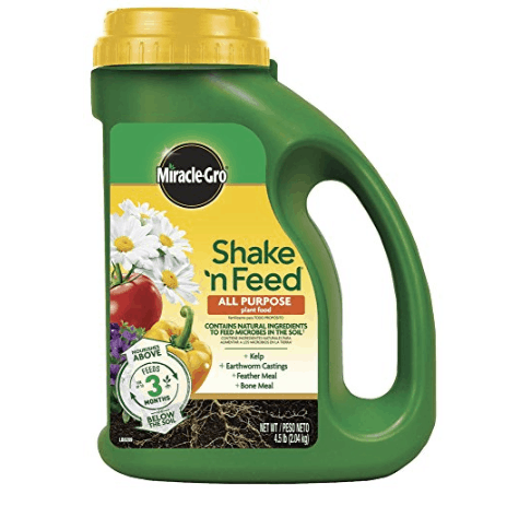 Miracle-Gro Shake 'N Feed All Purpose Continuous Release Plant Food $11.98