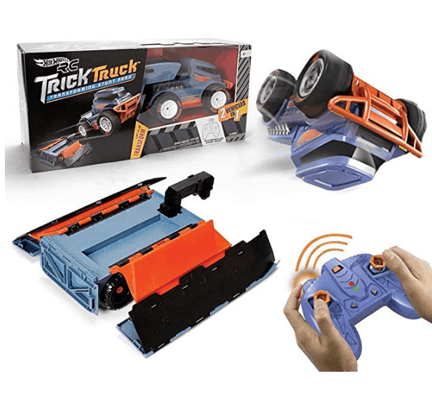 Hot Wheels R/c Trick Truck Transforming Stunt Park Vehicle Only $29.99 (Was $99.99)