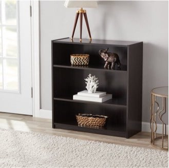 Set of 2 Mainstays 3-Shelf Bookcases Only $17.98