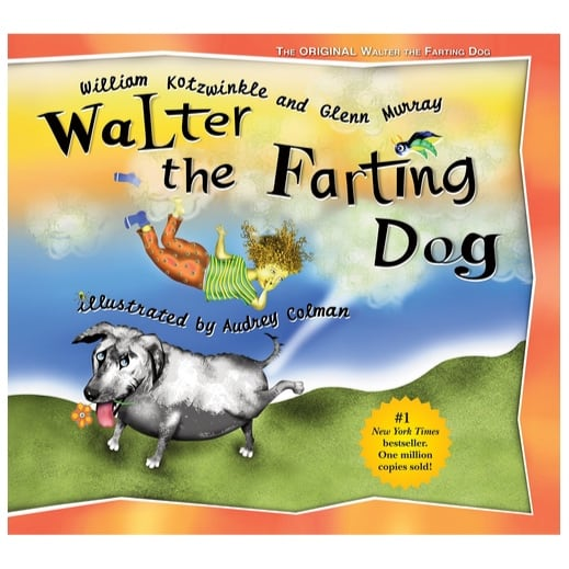 Walter the Farting Dog Hardcover Book Only $6.75