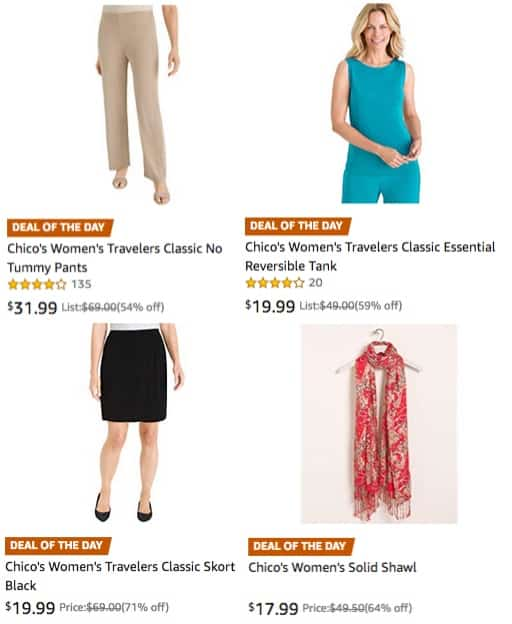 Up to 71% Off Chico's Apparel for Women **Today Only**