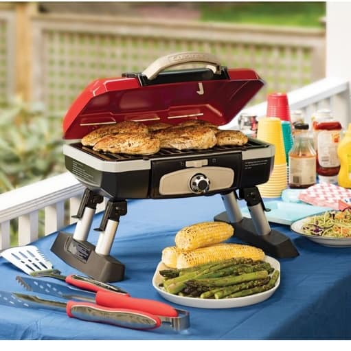 Up to 56% Off Cuisinart Grills, Smokers and Accessories ~ Tabletop Gas Grill $67.57 **Today Only**