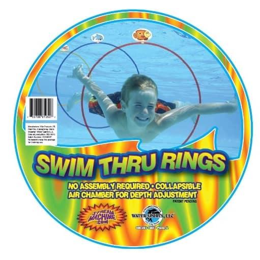 Water Sports Swim Thru Rings Only $12.99