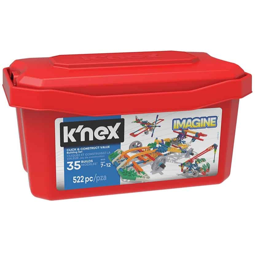 K'NEX Imagine Click & Construct 522 Piece Building Set Only $13.95 (Was $34.99)