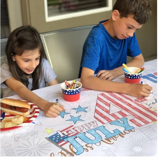 Large Table Top Coloring Banners Only $6.99