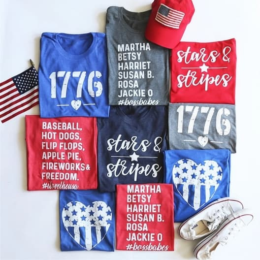 Patriotic Tees & Tanks Only $11.99 **Youth & Adult Sizes**
